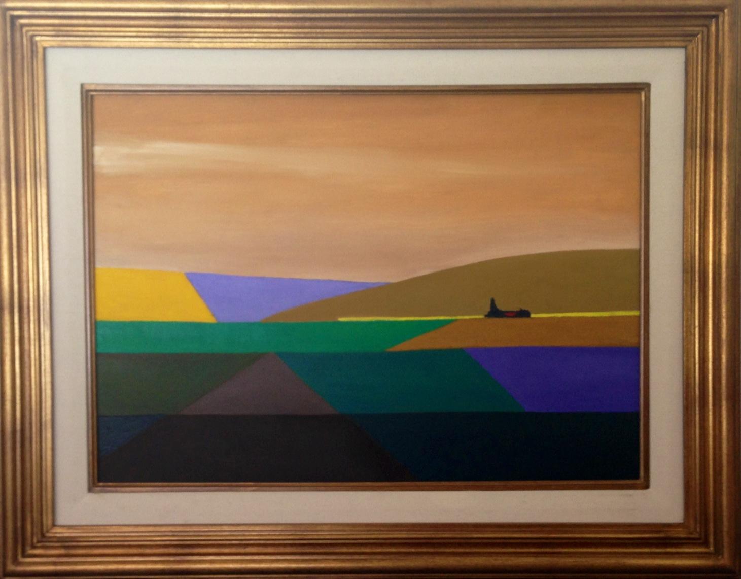 """Pablo Silveyra – """"Campo Quebrado"""" (2012) – 50×70 cm (sin marco ..."""